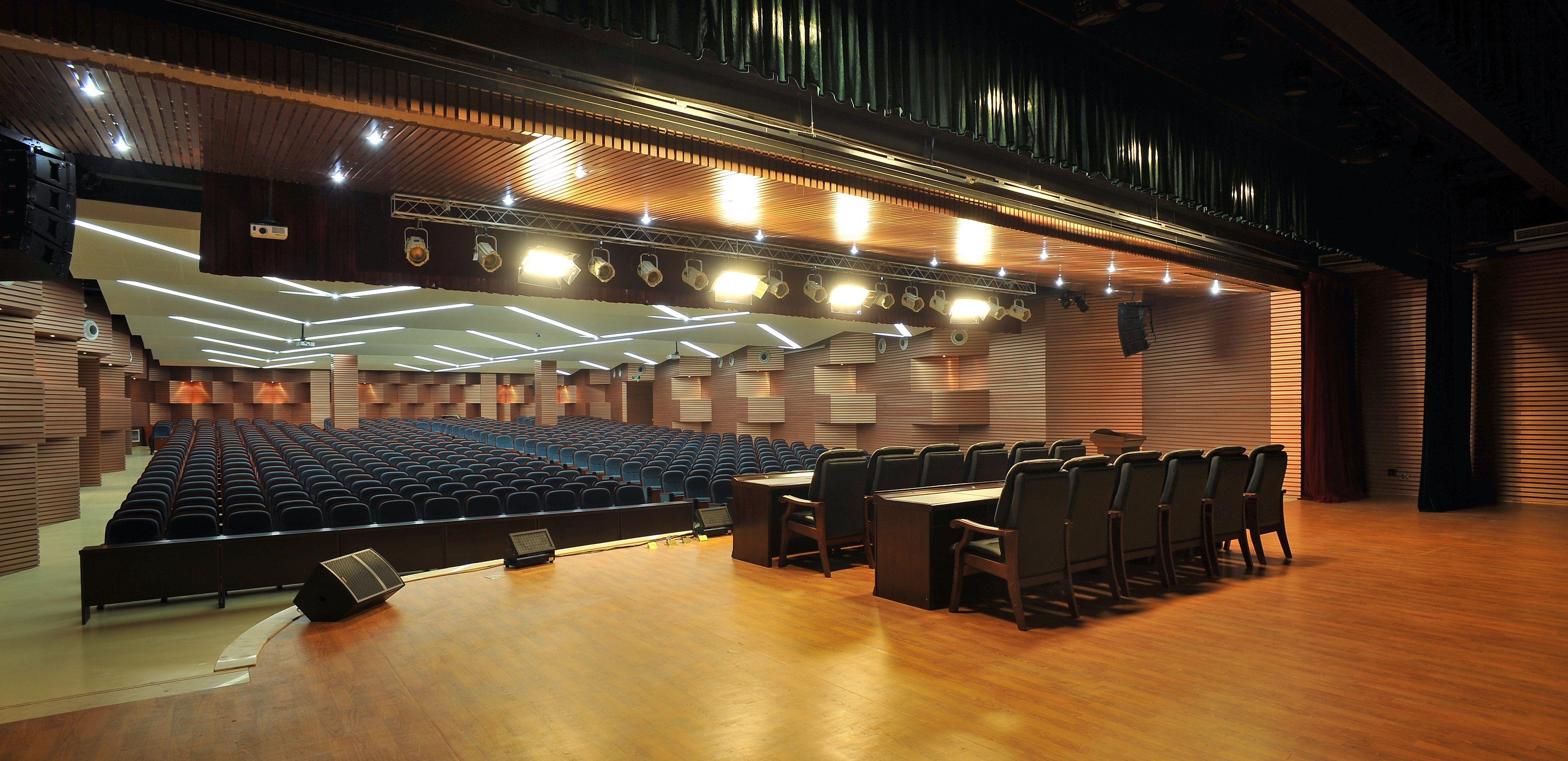 重庆育英小学礼堂 - 文化空间 - 重庆室内设计网_重庆