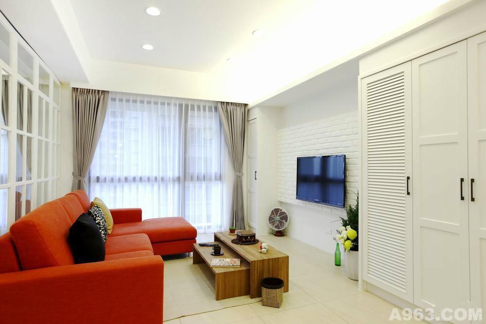 重庆85平米现代简约风格小户型装修案例