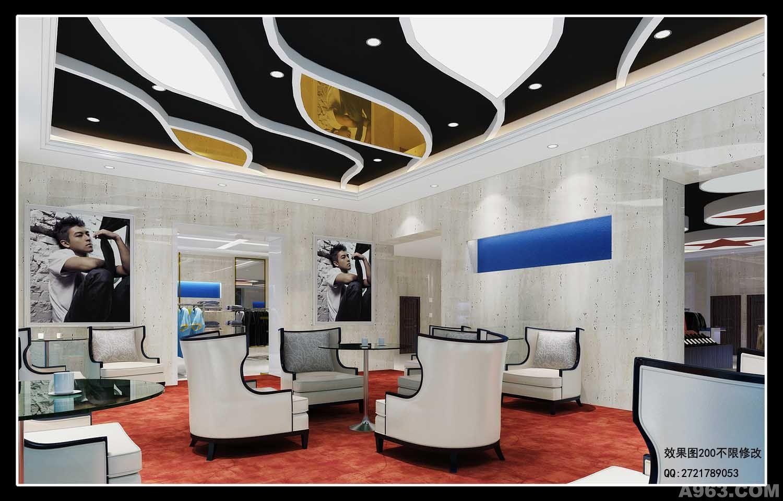 室內效果圖方案 - 商業空間 - 重慶室內設計網_重慶_.
