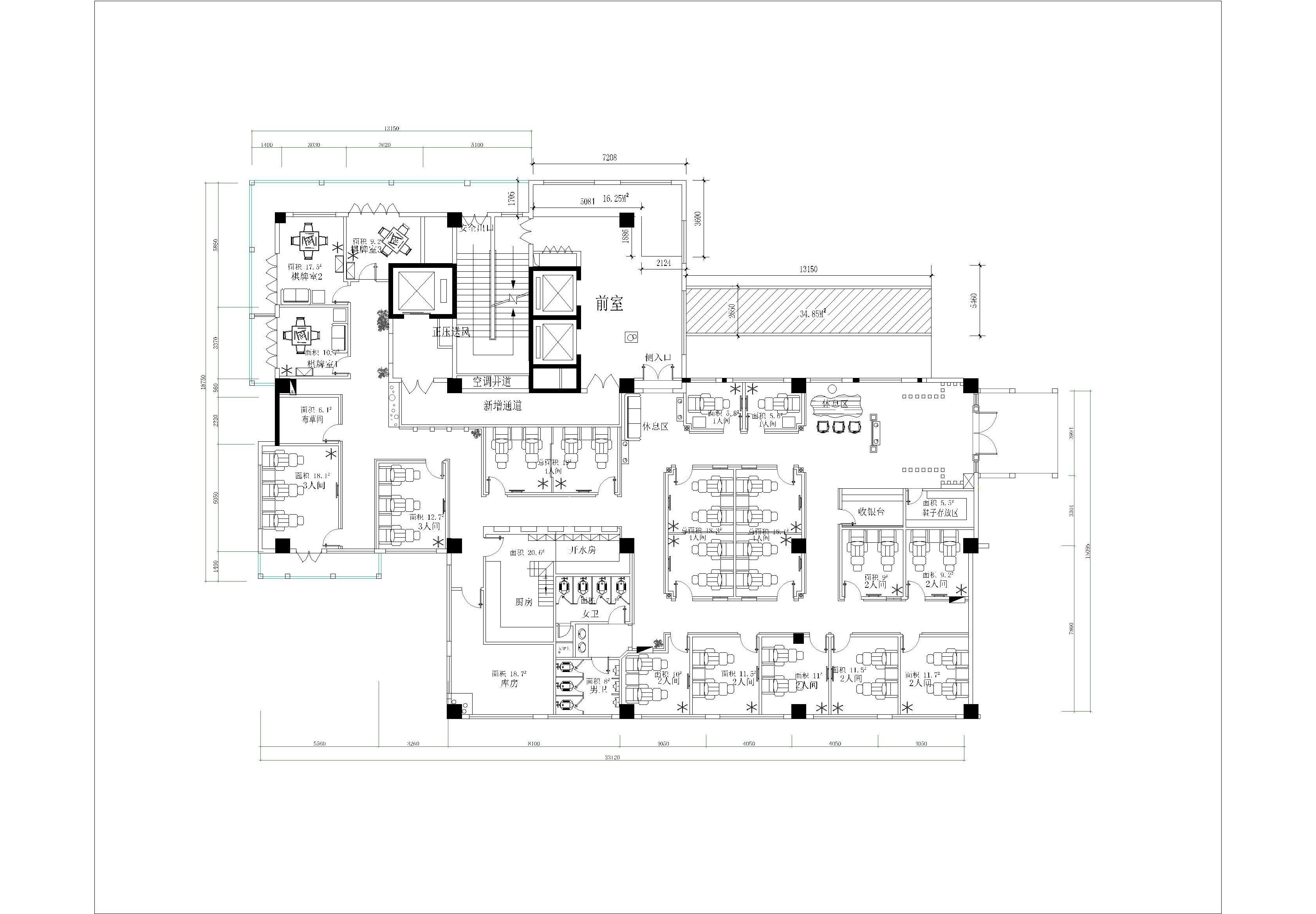 重慶-洪崖洞富僑貴足道 - 商業空間 - 重慶室內設計網