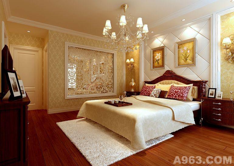 欧式卧室房顶装饰