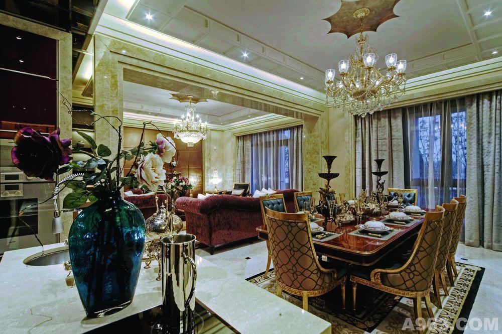 法式风格设计  法式古典风格装修设计  欧式样板房设计
