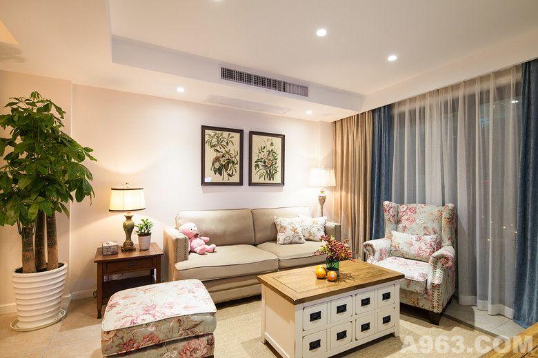 客厅小美风格设计图展示
