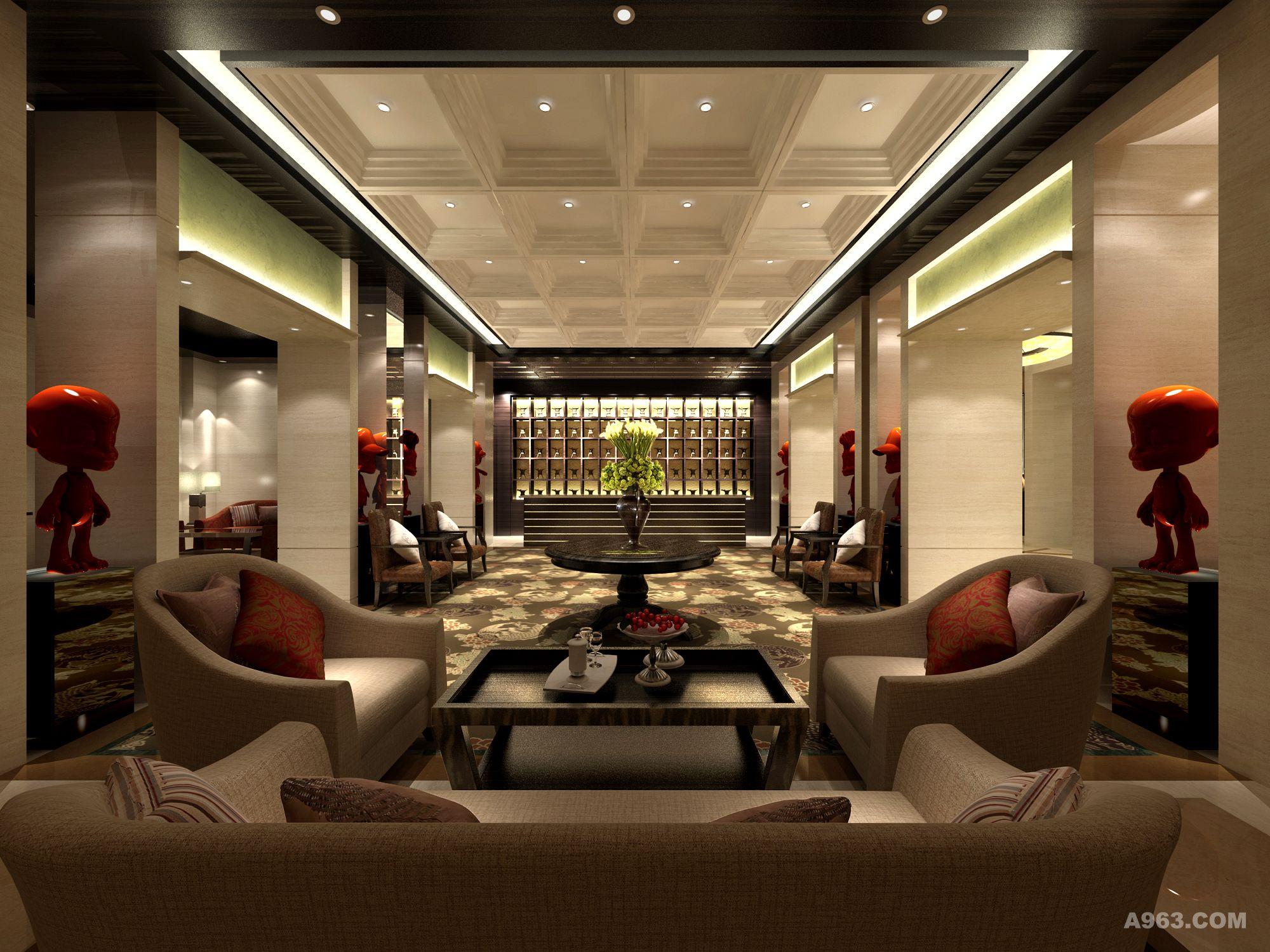 在对酒店进行设计的过程中,取其传统的精华,传统的设计中哪些