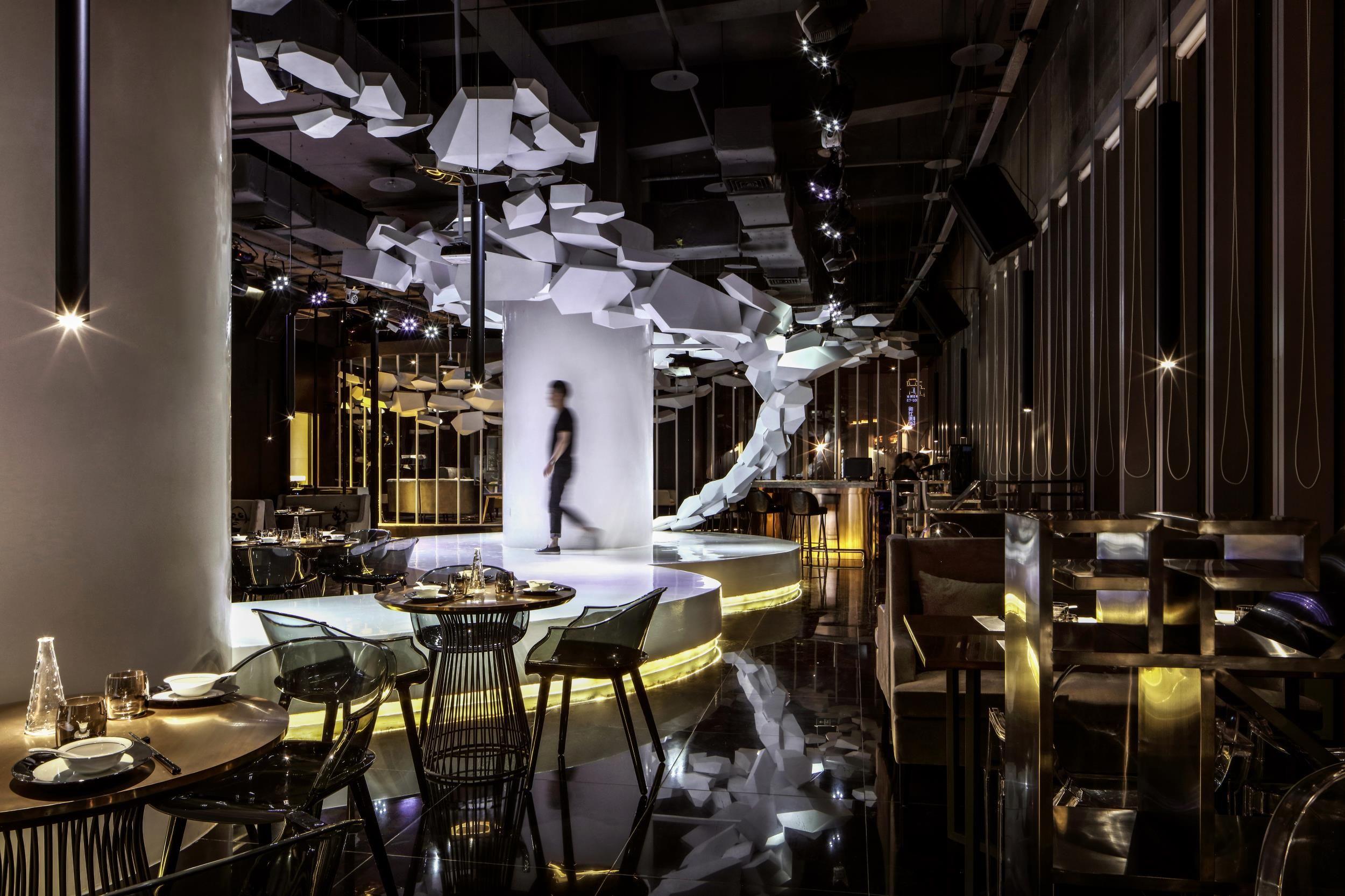 space元色餐厅 - 餐饮空间 - 刘攀设计作品案例