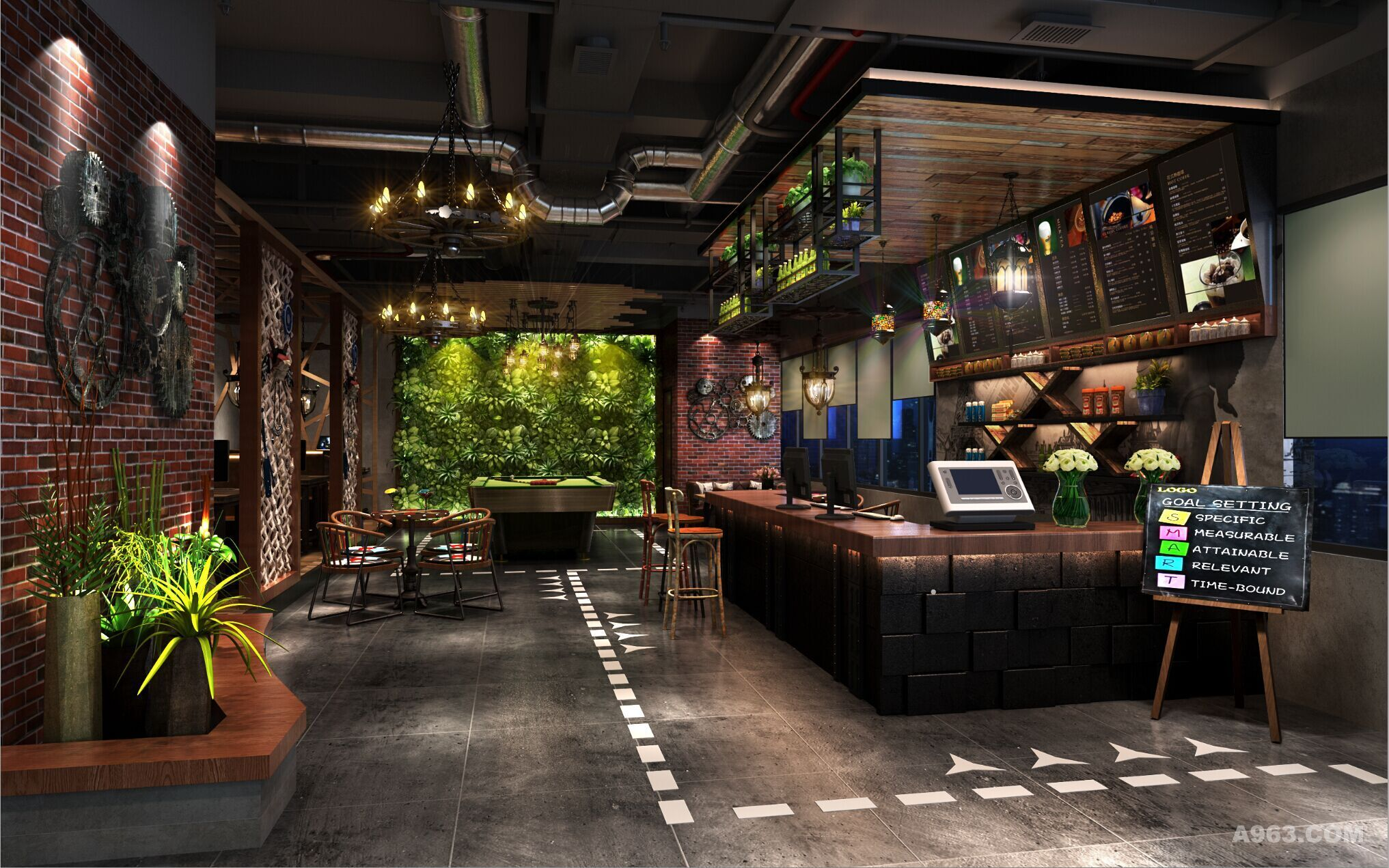 西藏网吧装修网咖设计效果图欣赏